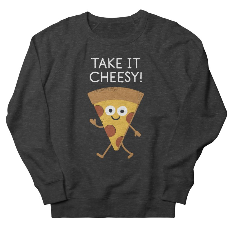 Chill Out, Order In Men's French Terry Sweatshirt by David Olenick