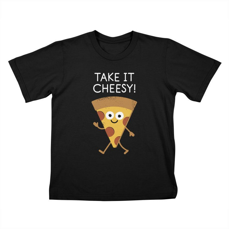 Chill Out, Order In Kids T-Shirt by David Olenick