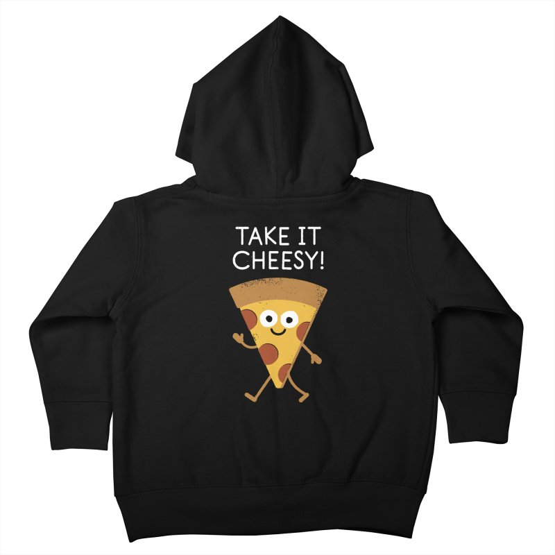 Chill Out, Order In Kids Toddler Zip-Up Hoody by David Olenick