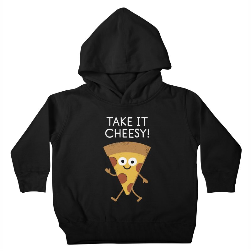 Chill Out, Order In Kids Toddler Pullover Hoody by David Olenick