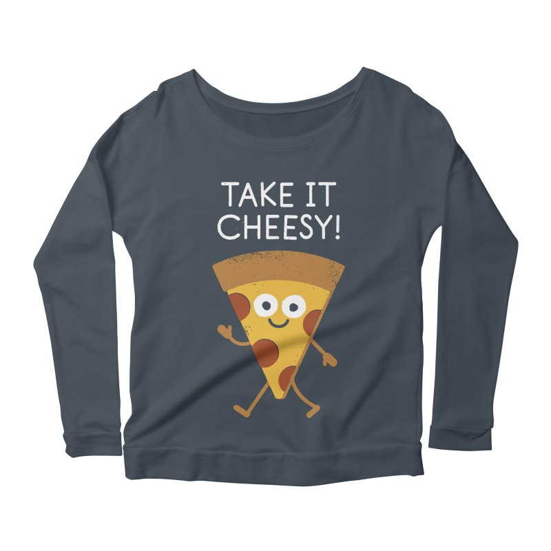 Chill Out, Order In Women's Scoop Neck Longsleeve T-Shirt by David Olenick