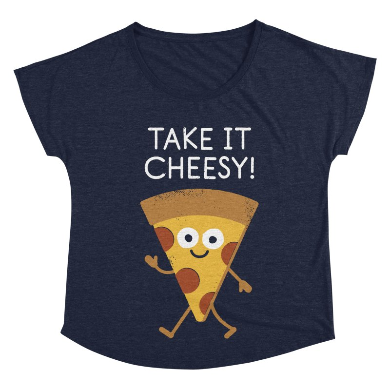 Chill Out, Order In Women's Dolman Scoop Neck by David Olenick