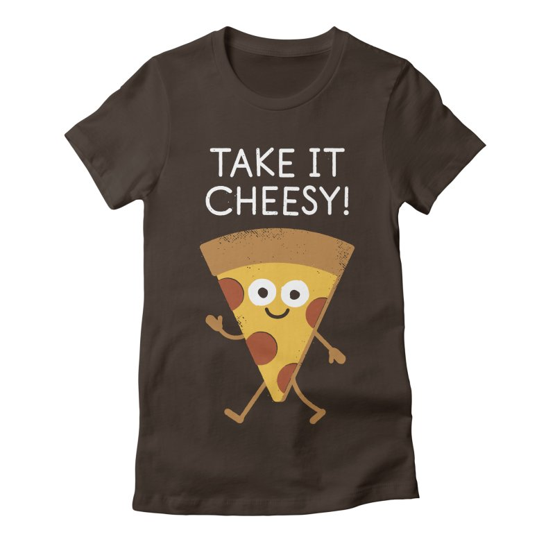 Chill Out, Order In Women's Fitted T-Shirt by David Olenick