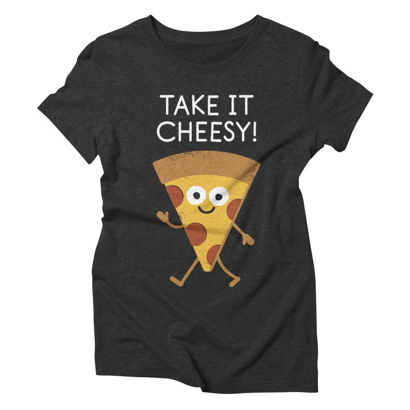 Chill Out, Order In Women's Triblend T-Shirt by David Olenick