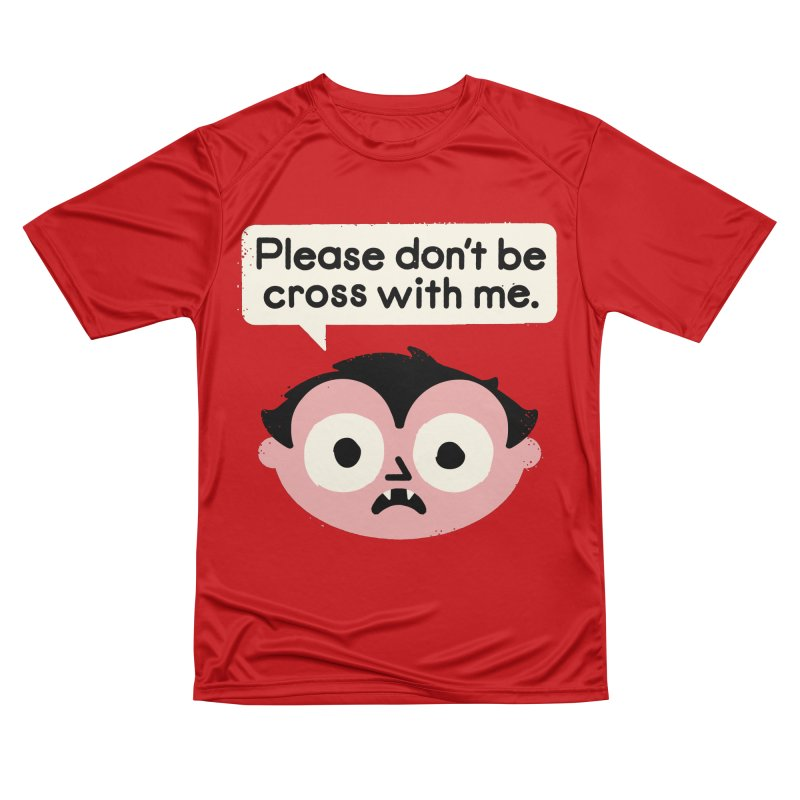 I Suck At Apologies Men's Performance T-Shirt by David Olenick
