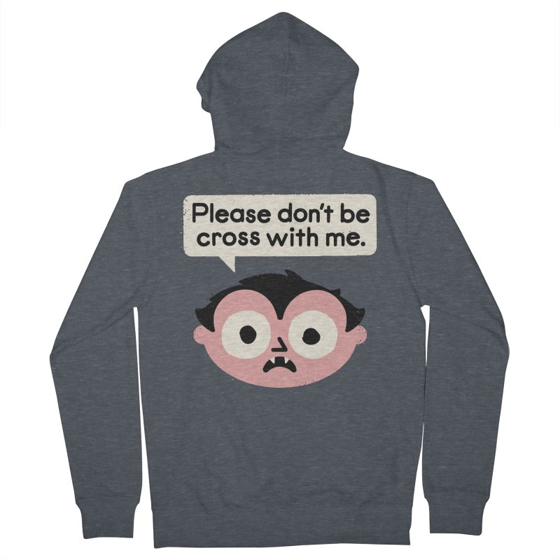 I Suck At Apologies Women's French Terry Zip-Up Hoody by David Olenick