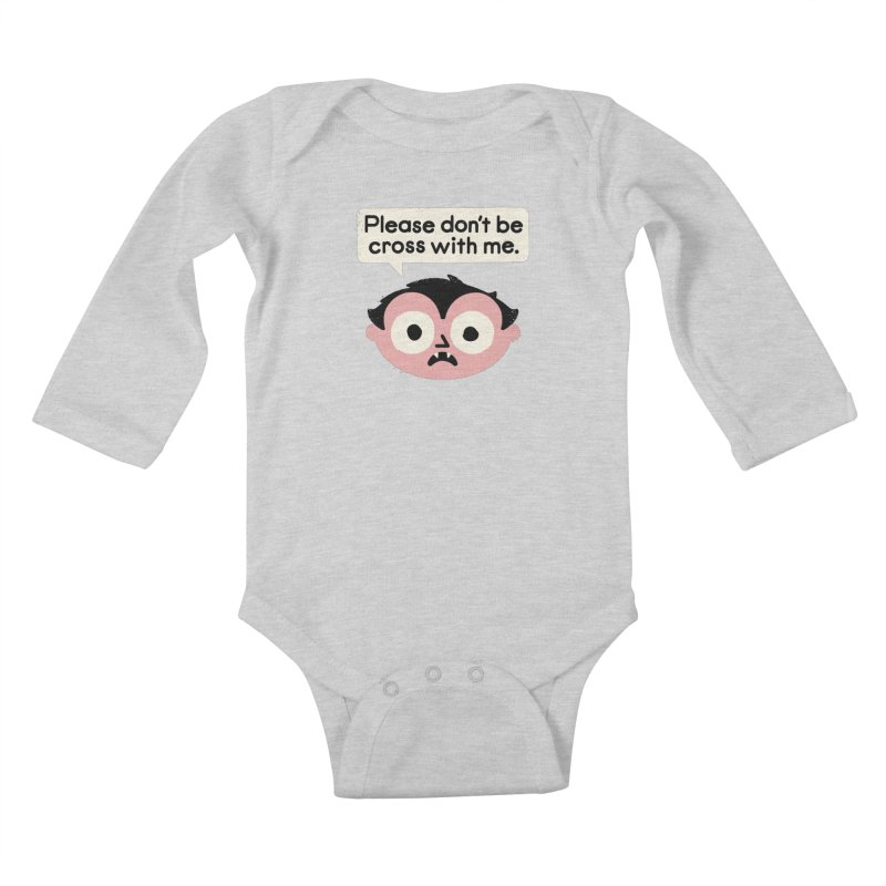 I Suck At Apologies Kids Baby Longsleeve Bodysuit by David Olenick