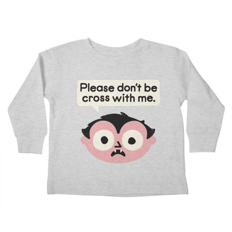 I Suck At Apologies Kids Toddler Longsleeve T-Shirt by David Olenick