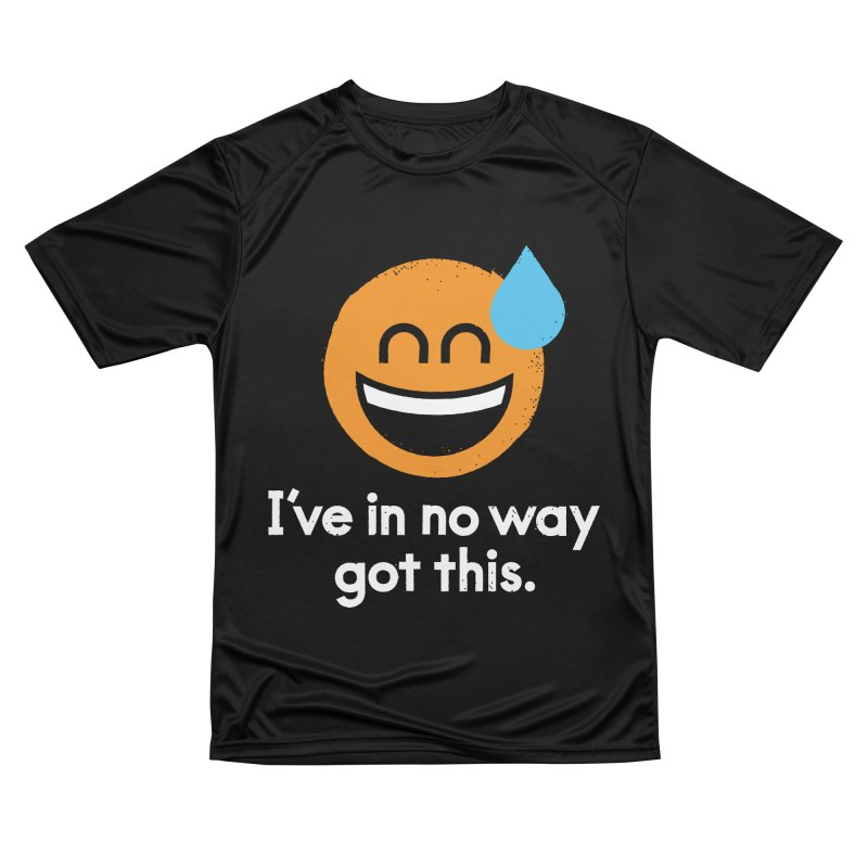 Sweating the All Stuff Men's Performance T-Shirt by David Olenick