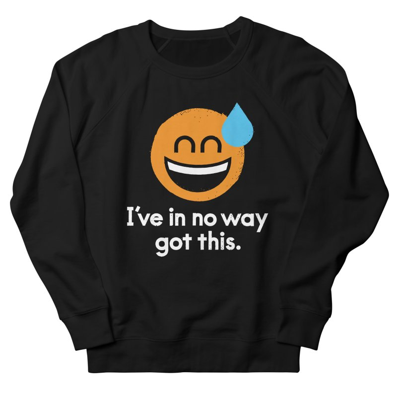 Sweating the All Stuff Men's French Terry Sweatshirt by David Olenick