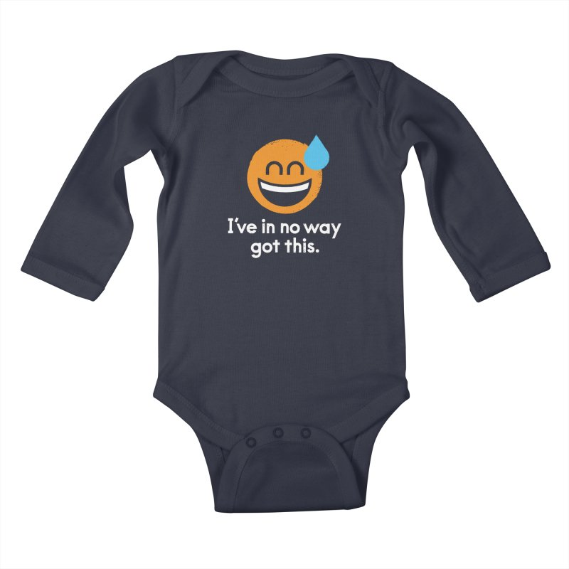 Sweating the All Stuff Kids Baby Longsleeve Bodysuit by David Olenick
