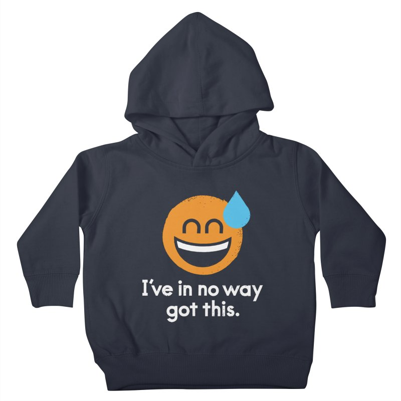 Sweating the All Stuff Kids Toddler Pullover Hoody by David Olenick