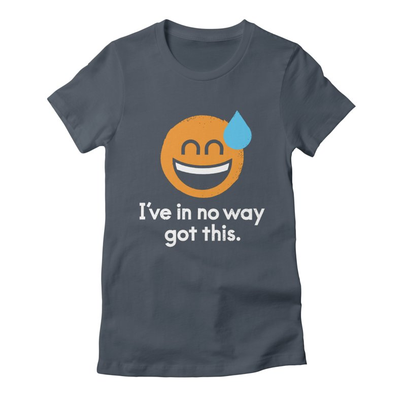 Sweating the All Stuff Women's Fitted T-Shirt by David Olenick