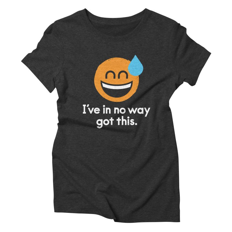 Sweating the All Stuff Women's Triblend T-Shirt by David Olenick