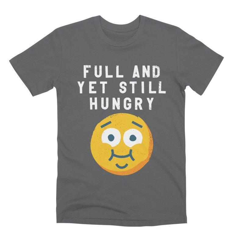 Perpetual-motional Eating Men's Premium T-Shirt by David Olenick