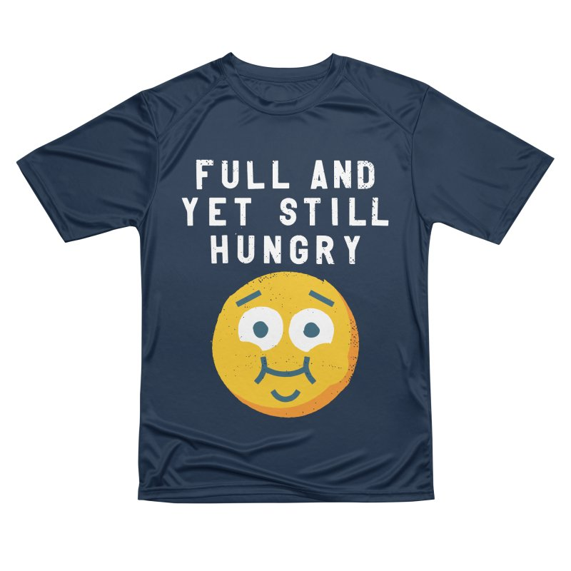 Perpetual-motional Eating Men's Performance T-Shirt by David Olenick
