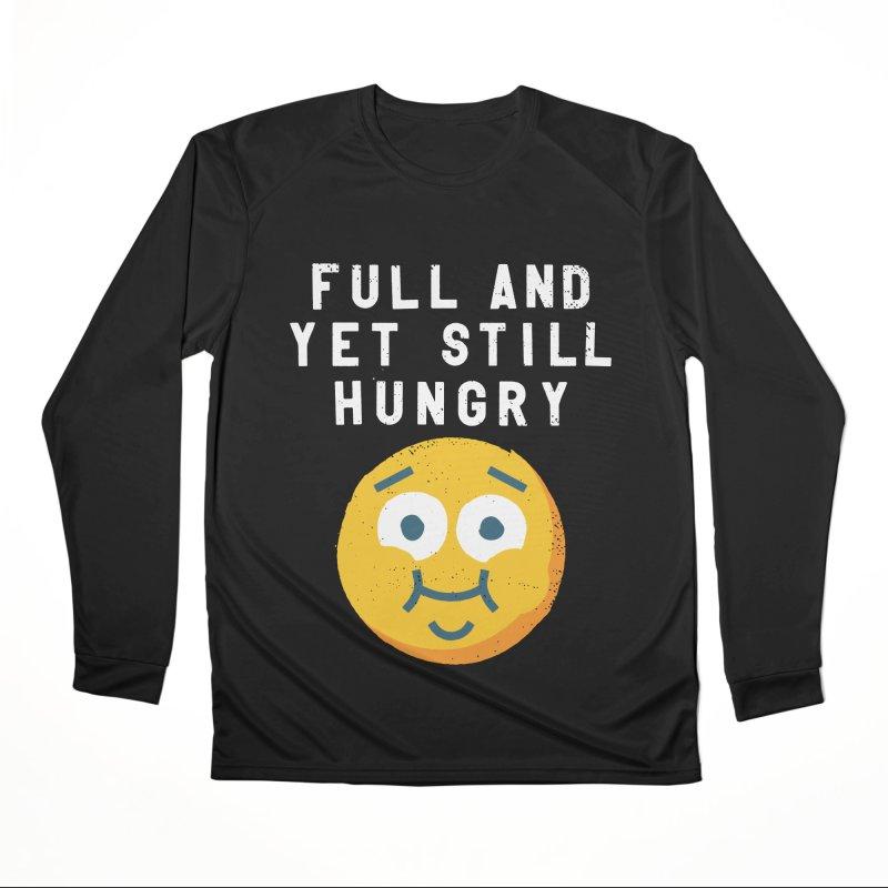 Perpetual-motional Eating Men's Performance Longsleeve T-Shirt by David Olenick
