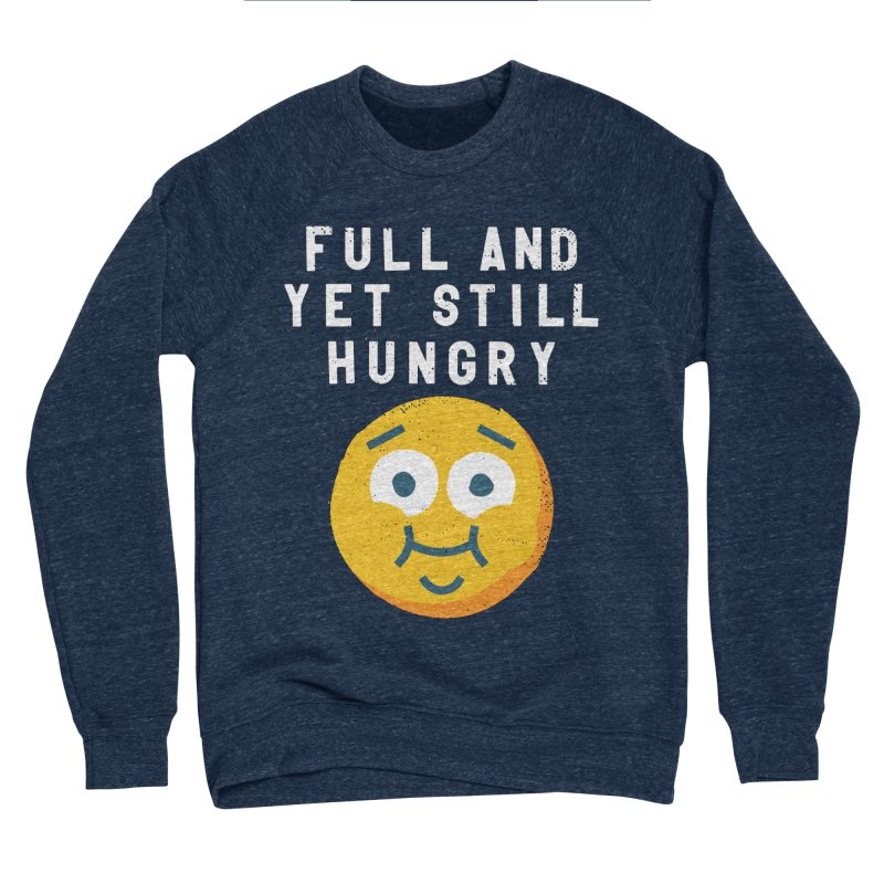 Perpetual-motional Eating Men's Sponge Fleece Sweatshirt by David Olenick