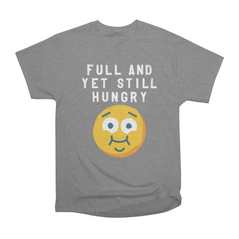 Perpetual-motional Eating Men's Heavyweight T-Shirt by David Olenick