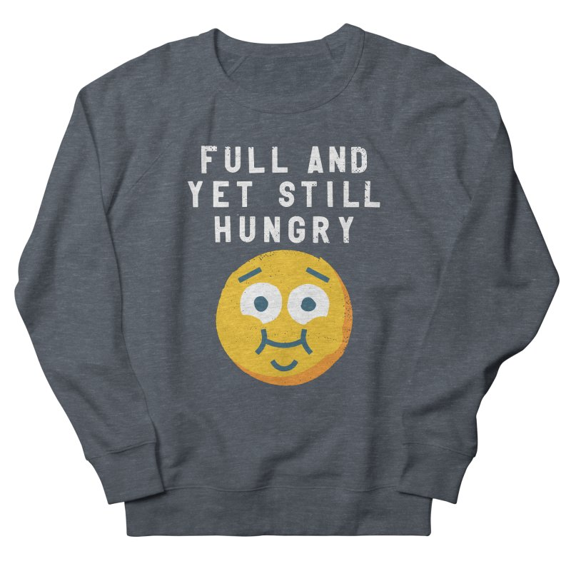 Perpetual-motional Eating Men's French Terry Sweatshirt by David Olenick