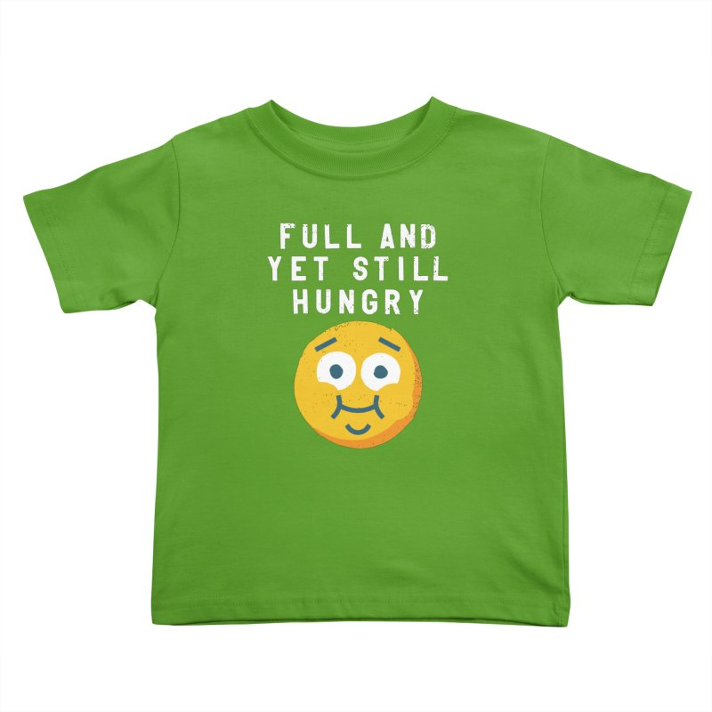 Perpetual-motional Eating Kids Toddler T-Shirt by David Olenick