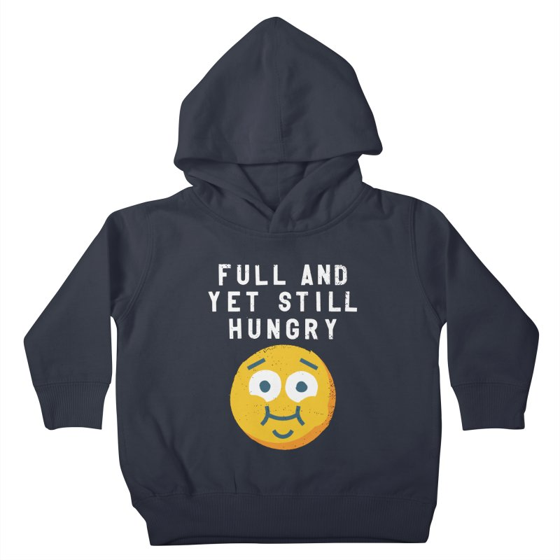 Perpetual-motional Eating Kids Toddler Pullover Hoody by David Olenick
