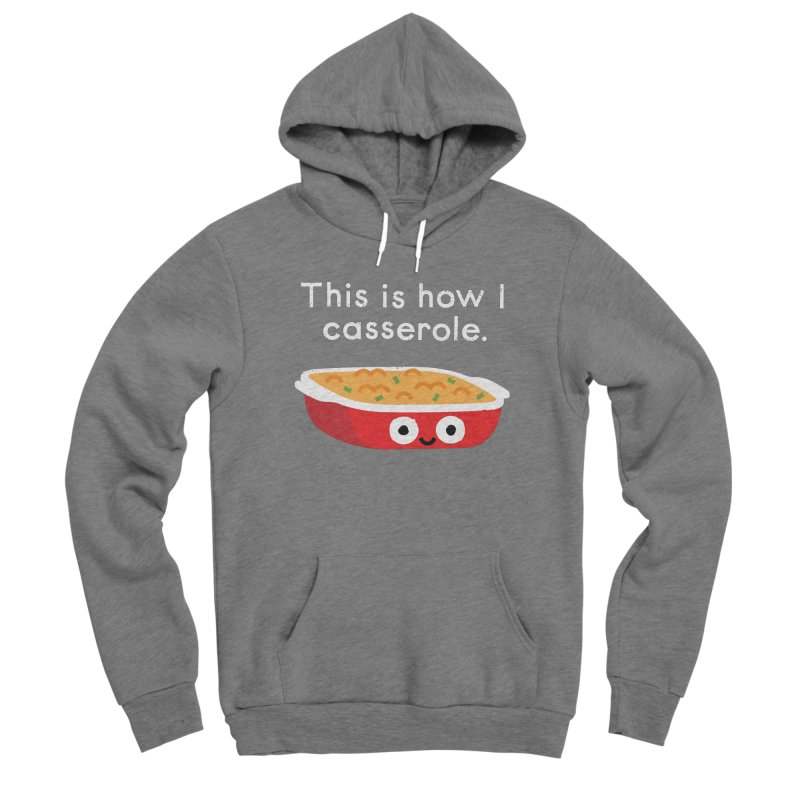 Leftover It Men's Pullover Hoody by David Olenick