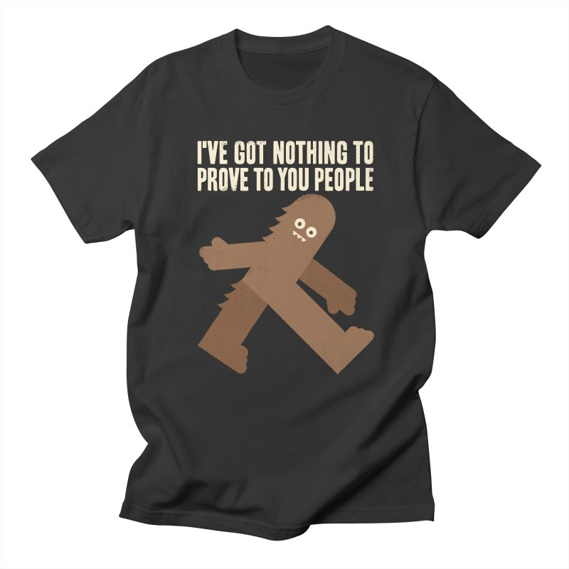 Surefooted Men's T-Shirt by David Olenick