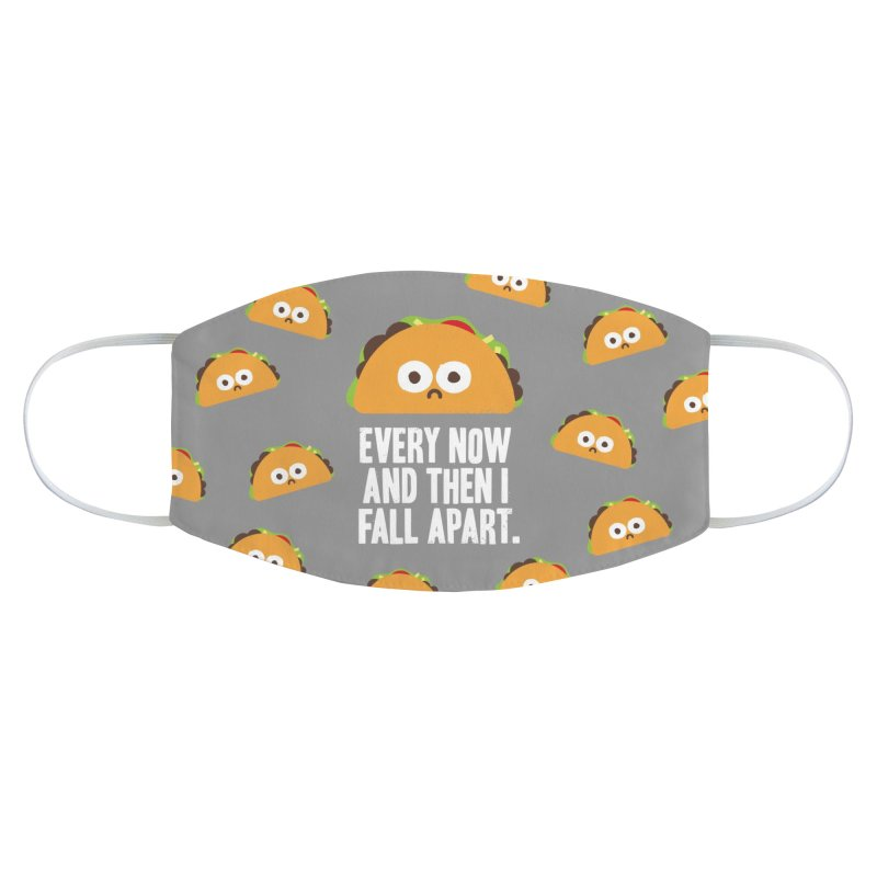 Taco Eclipse of the Heart Accessories Face Mask by David Olenick