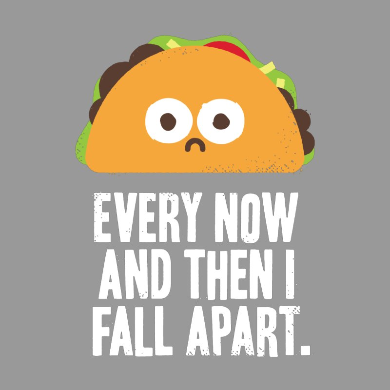 Taco Eclipse of the Heart Kids Baby Zip-Up Hoody by David Olenick