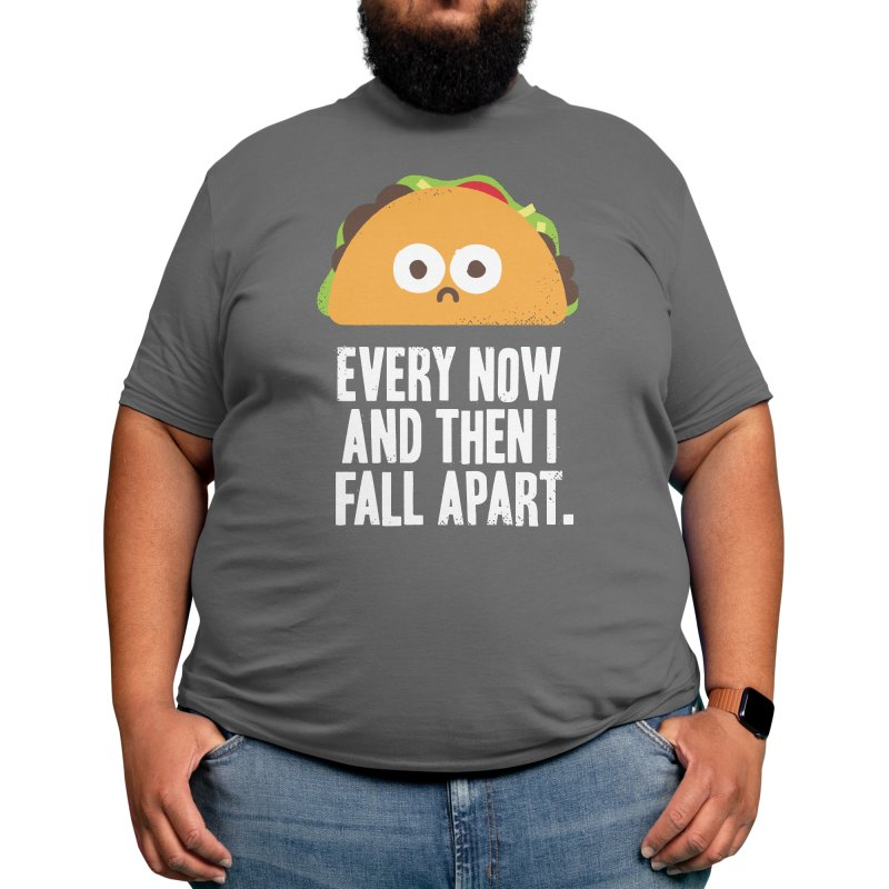 Taco Eclipse of the Heart Men's T-Shirt by David Olenick