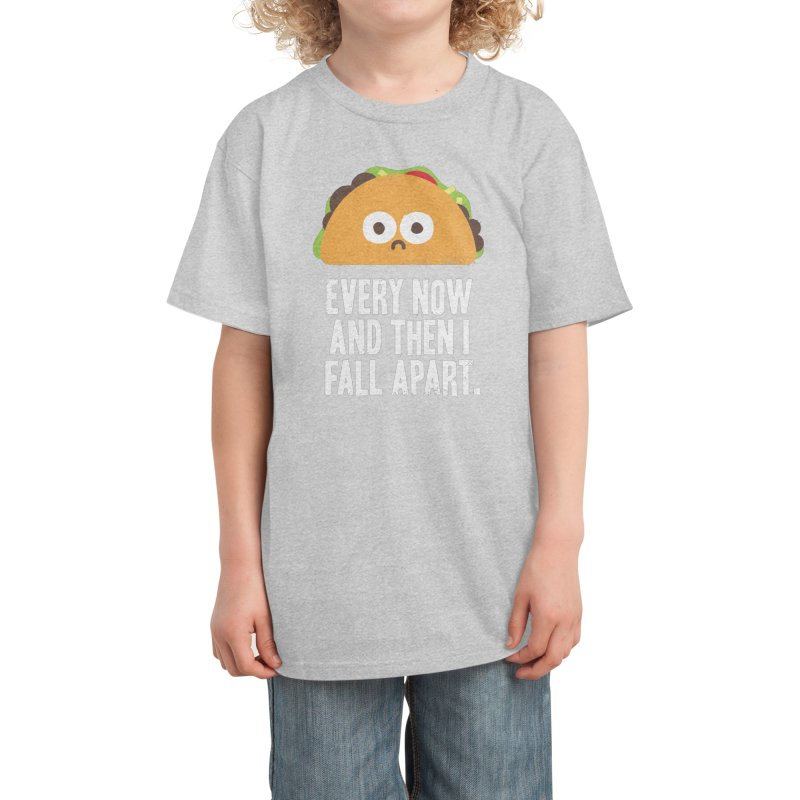 Taco Eclipse of the Heart Kids T-Shirt by David Olenick