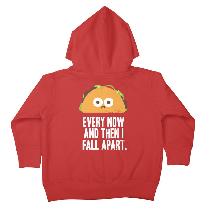 Taco Eclipse of the Heart Kids Toddler Zip-Up Hoody by David Olenick