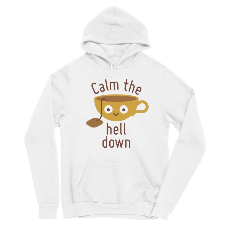 Anxietea Men's Pullover Hoody by David Olenick