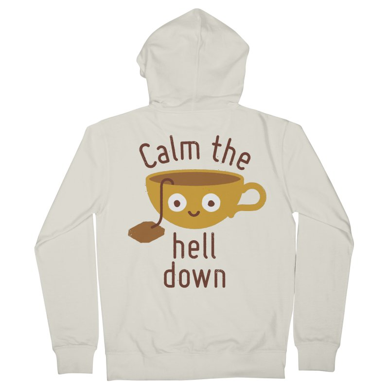 Anxietea Men's Zip-Up Hoody by David Olenick