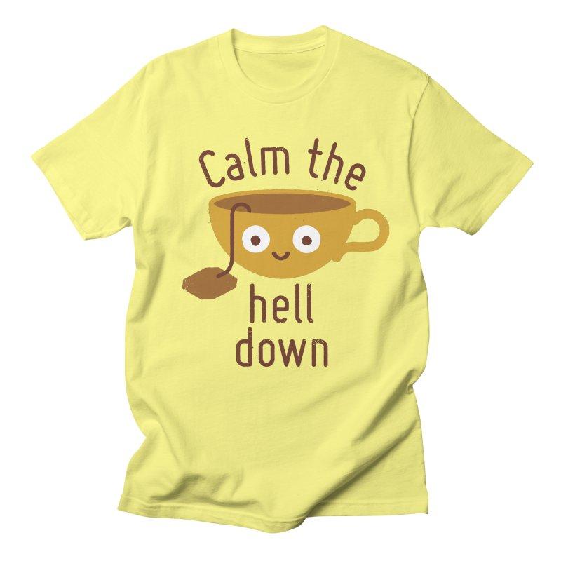 Anxietea Men's T-Shirt by David Olenick