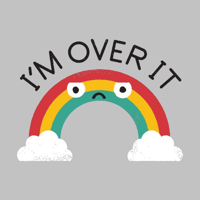 Above Bored Men's T-Shirt by David Olenick