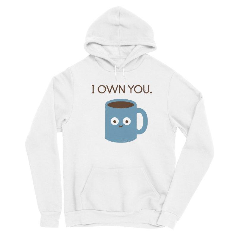 Coffee Talk Men's Pullover Hoody by David Olenick