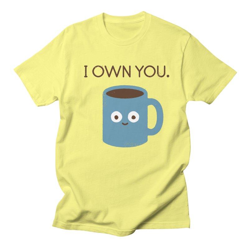 Coffee Talk Men's T-Shirt by David Olenick