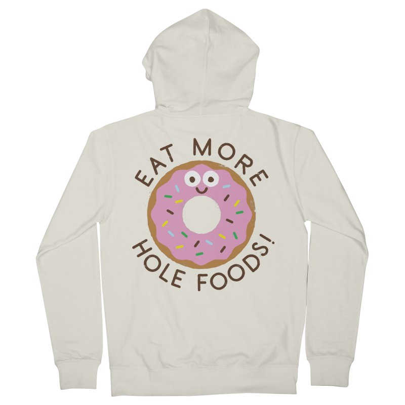 Do's and Donuts Men's Zip-Up Hoody by David Olenick