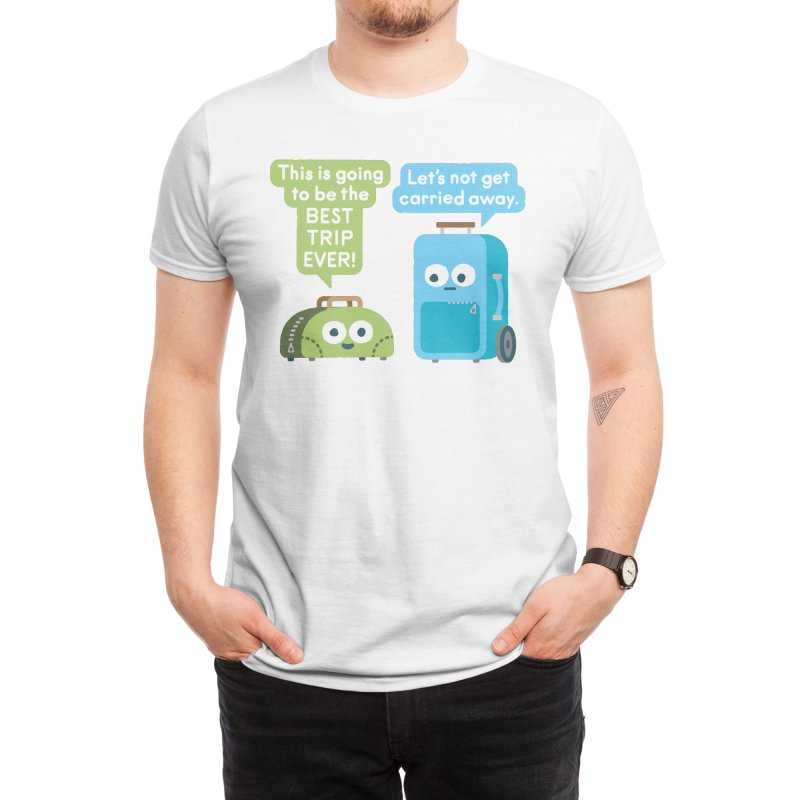 Staying Grounded Men's T-Shirt by David Olenick