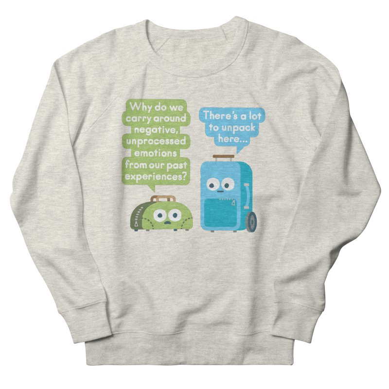 Checking Baggage Men's Sweatshirt by David Olenick