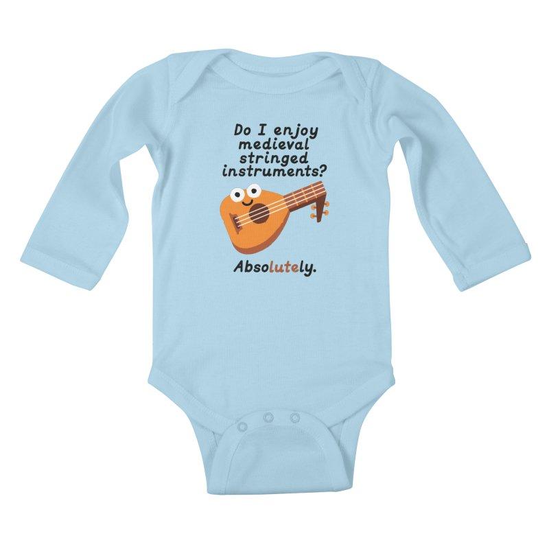 Bardcore Kids Baby Longsleeve Bodysuit by David Olenick