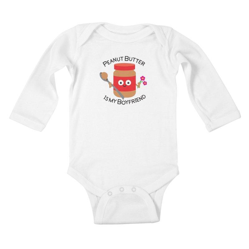 Don't Be Jelly Kids Baby Longsleeve Bodysuit by David Olenick