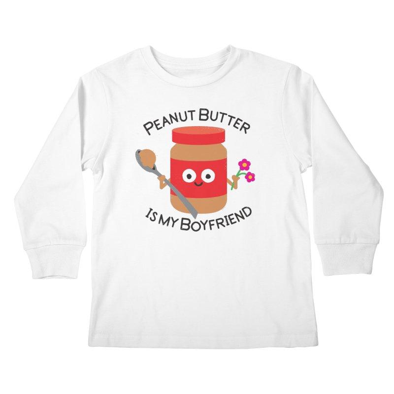 Don't Be Jelly Kids Longsleeve T-Shirt by David Olenick