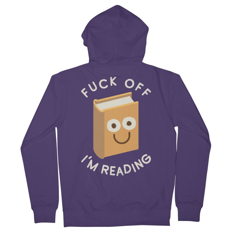 All Booked Up Women's Zip-Up Hoody by David Olenick