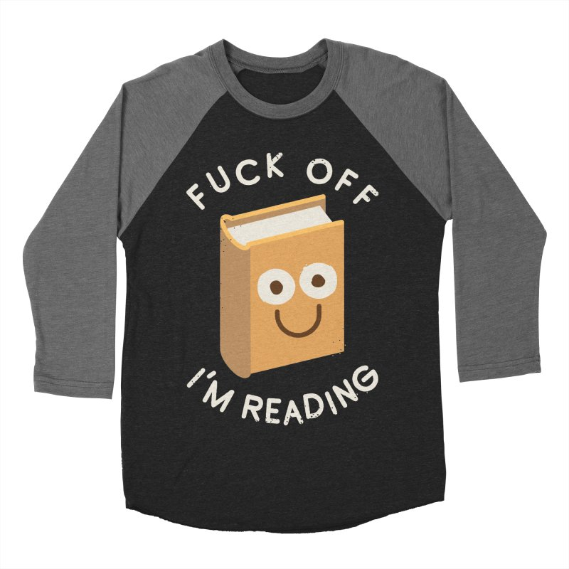 All Booked Up Men's Baseball Triblend T-Shirt by David Olenick