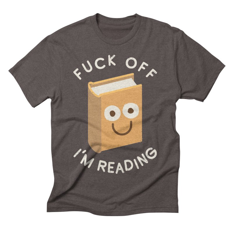 All Booked Up Men's Triblend T-shirt by David Olenick