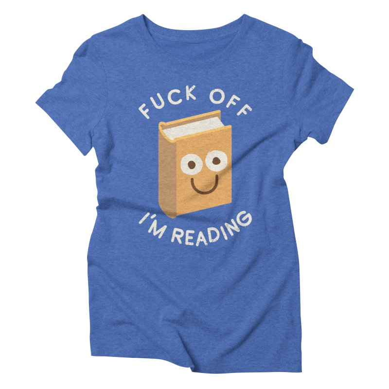 All Booked Up Women's Triblend T-shirt by David Olenick