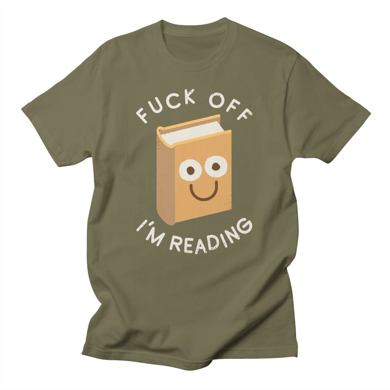 All Booked Up Men's T-Shirt by David Olenick